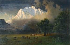 Mt. Adams, Albert Bierstadt